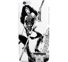 Analog Barbarian Queen  iPhone Case/Skin