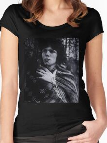 nick drake...... Women's Fitted Scoop T-Shirt
