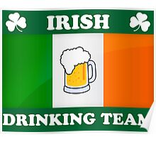 Irish Drinking Team (B) Poster