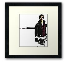 Once upon a time- Kill them all Framed Print