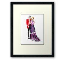 Valentine Couple: 3 Framed Print