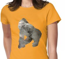 Gorilla Womens Fitted T-Shirt
