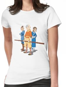 Team Avatar Cool Womens Fitted T-Shirt