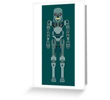 Terminator vector character fanart Greeting Card