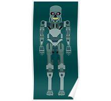 Terminator vector character fanart Poster