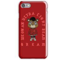 Ultra Light Beam x Yeezy S3 Bear iPhone Case/Skin