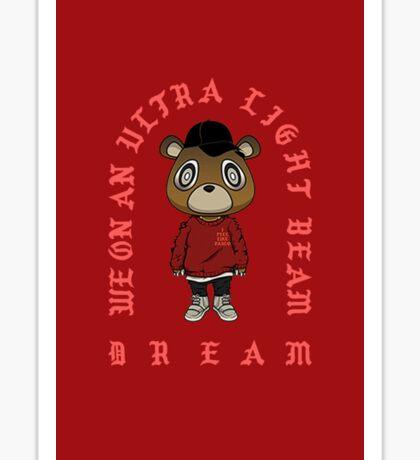 Ultra Light Beam x Yeezy S3 Bear Sticker