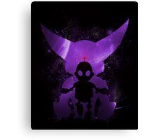 Ratchet & Clank Galaxy (Purple Version) Canvas Print