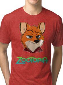 Zootopia Tri-blend T-Shirt