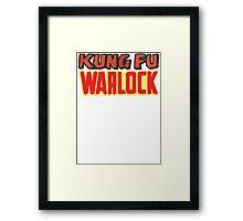 Kung Fu Warlock  Framed Print