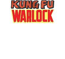 Kung Fu Warlock  Photographic Print