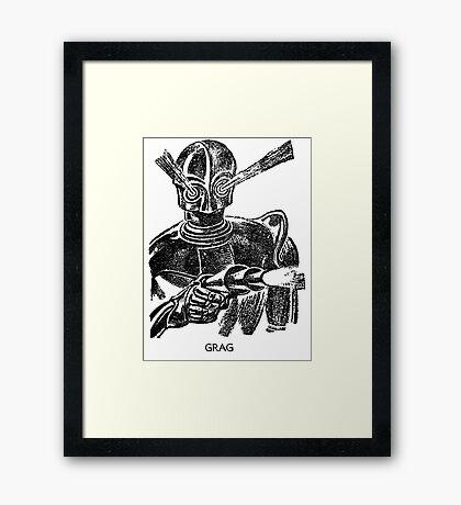 GRAG  Framed Print