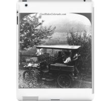 Cars 010 iPad Case/Skin