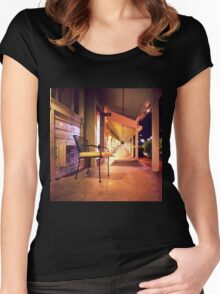 Night at the Motel Women's Fitted Scoop T-Shirt