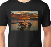 Sunset in Donostia - San Sebastian Unisex T-Shirt