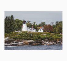 Burnt Island Lighthouse - Maine One Piece - Short Sleeve