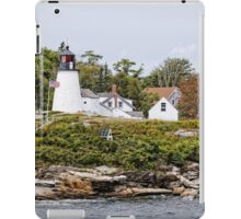 Burnt Island Lighthouse - Maine iPad Case/Skin