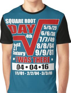 4th Square Root Day of the Century Graphic T-Shirt