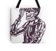 Skeleton Warrior  Tote Bag