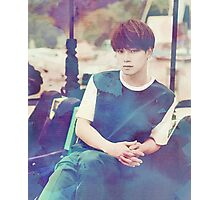 EXO / LOVE ME RIGHT / CHEN / WATERCOLOR Photographic Print