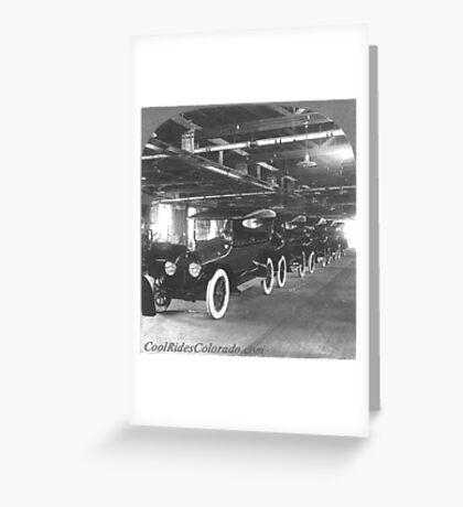 Cars 008 Greeting Card