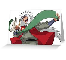 Jiraiya Greeting Card