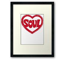 SOUL v.2  Framed Print