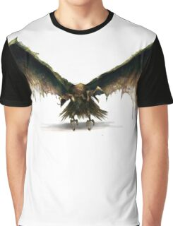 Vulture Creature Graphic T-Shirt