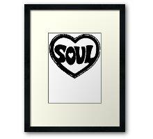 SOUL v.1  Framed Print