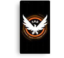 The Division: SHD Design Phone Case Canvas Print
