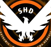 The Division: SHD Design Phone Case Sticker