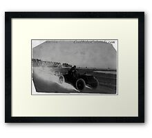 Cars 007 Framed Print