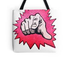 FINGER POW  Tote Bag