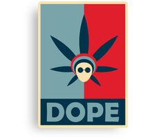 Dope Products (Literally)  Canvas Print
