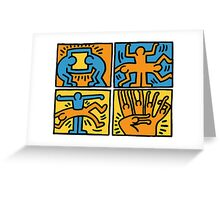 Keith Haring Greeting Card