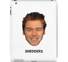 What would Snedders do? iPad Case/Skin