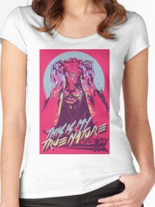Hotline Miami 2: Wrong Number #7 Women's Fitted Scoop T-Shirt