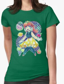 Fruit Princess Daisy Womens Fitted T-Shirt