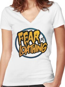 Fear and Loathing  Women's Fitted V-Neck T-Shirt