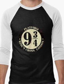 harry potter platform 9 3/4 Men's Baseball ¾ T-Shirt