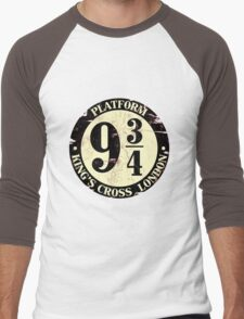 harry potter platform 9 3/4 Men's Baseball ¾ T-Shirt