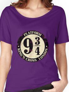 harry potter platform 9 3/4 Women's Relaxed Fit T-Shirt