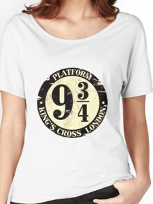 harry potter platform 9 3/4 Women's Relaxed Fit T-Shirt