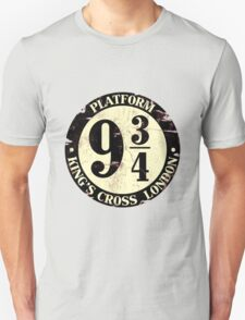 harry potter platform 9 3/4 Unisex T-Shirt
