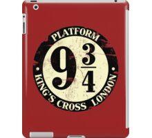 harry potter platform 9 3/4 iPad Case/Skin