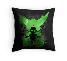 Ratchet & Clank Galaxy (Green Version) Throw Pillow