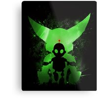 Ratchet & Clank Galaxy (Green Version) Metal Print