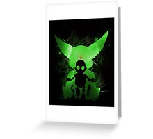 Ratchet & Clank Galaxy (Green Version) Greeting Card
