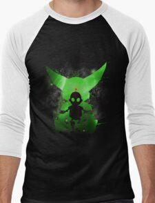 Ratchet & Clank Galaxy (Green Version) Men's Baseball ¾ T-Shirt