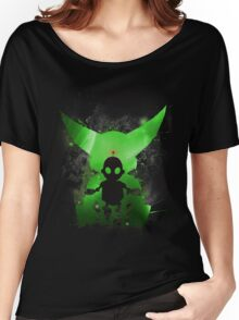 Ratchet & Clank Galaxy (Green Version) Women's Relaxed Fit T-Shirt